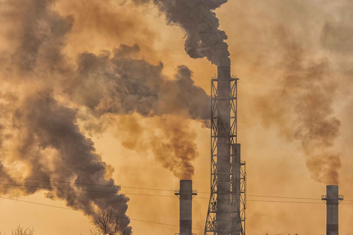 дым смог