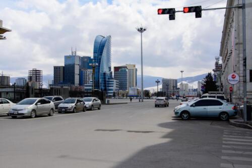 Небоскреб Sky Fly в Улан-Баторе