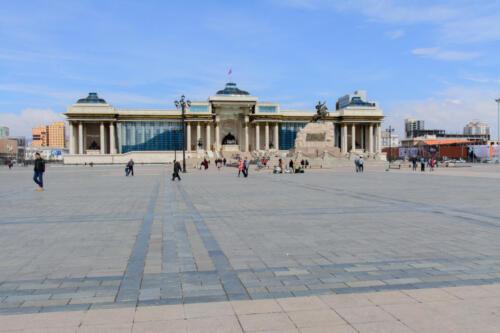 Ulan-bator central square