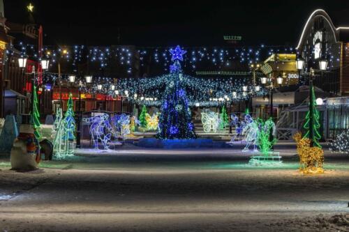 Барнаул ледяной городок бесплатное фото