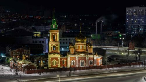 Барнаул Знаменский храм