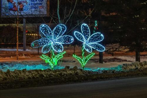 Новогодние украшения Барнаул