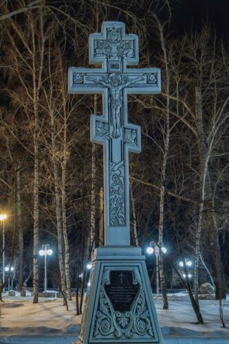 Барнаул поклонный крест