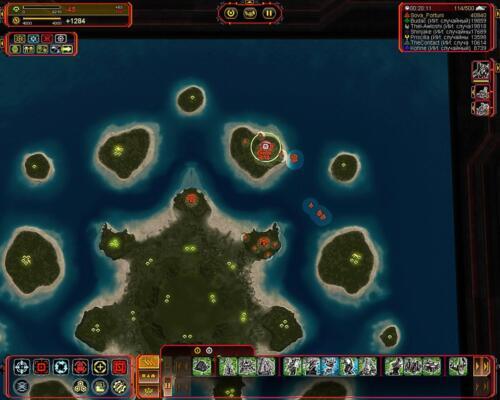Скрин из игры Supreme Commander Forged Alliance