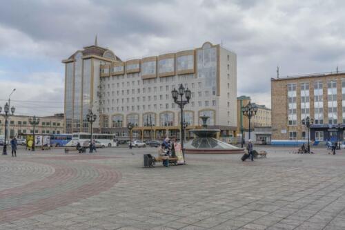 Красноярск железнодорожный вокзал