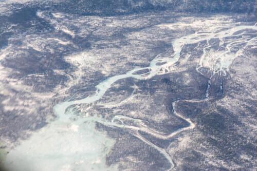 Река Муя в Северной Бурятии (Забайкальский край, Россия)