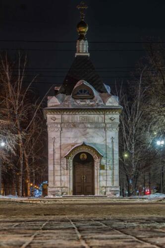 Barnaul Часовня улица Ленина
