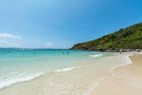 Lan Island Beach in the Gulf of Thailand