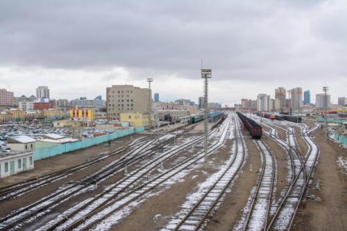 Вокзал в Улан-Баторе