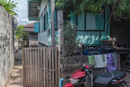 Дома на острове Лан в провинции Чонбури в Таиланде