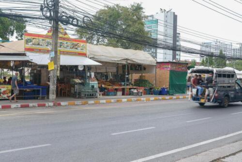 Рынок на Секонд Роад Стрит в Паттайе