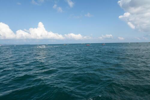 Море - сиамский залив