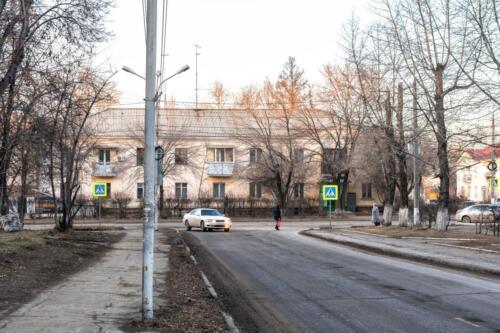 Shelehov. Проспект первостроителей.