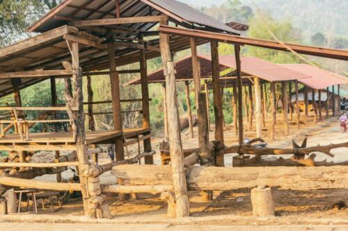 Стойло для содержания слонов, Таиланд