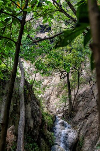 Стекающих в горах ручей