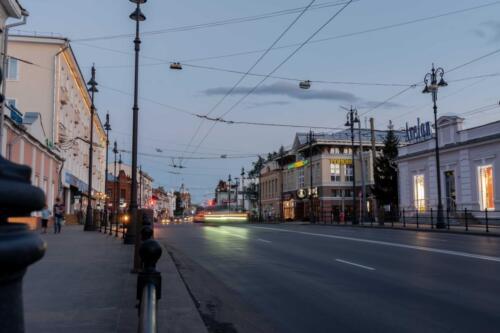 Томск центр города