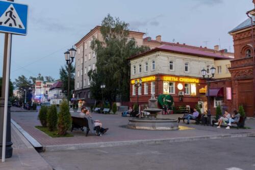 Tomsk Lenin's str