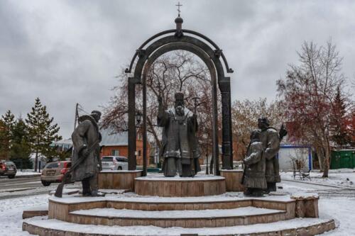Тюмень памятник крещению