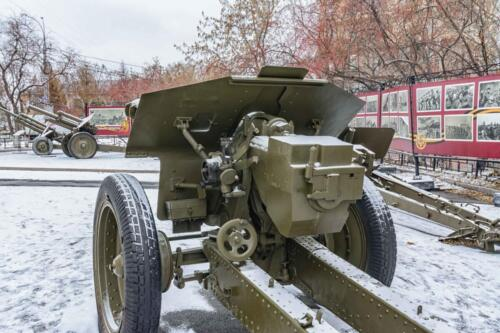 Тюмень пушка ЗиС-3