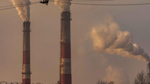 дым от завода