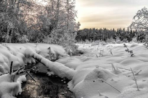мороз, лед, зима, холод, река, снег,